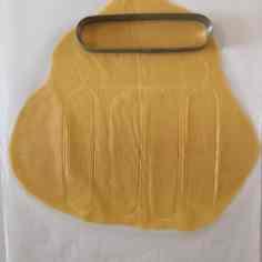 Découpage tartelette oblongue pâte sucrée