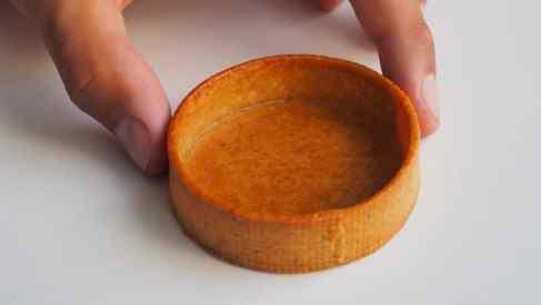 Fond de tarte cuit et doré