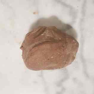 pâte sucrée chocolat homogène