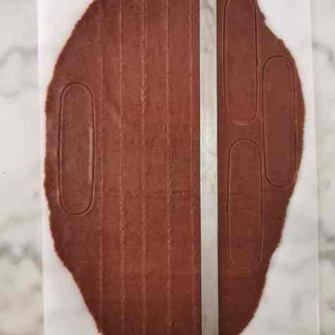 pâte sucrée chocolat détaillée