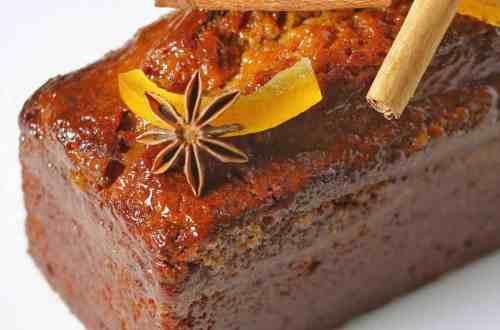 pain d'épices joliment décoré