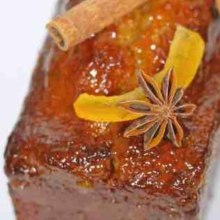 zoom sur décor de pain d'épices