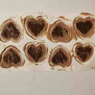 Montage entremets passion chocolat au lait avec croustillant