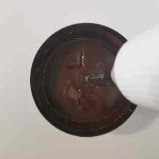 glaçage miroir chocolat mixé
