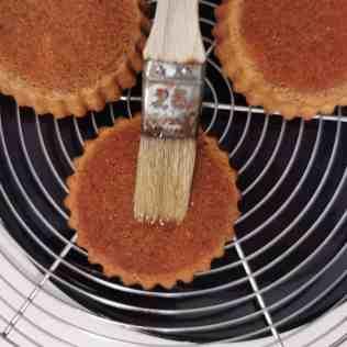 Imbibage du gâteau nantais
