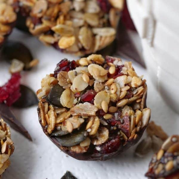 Barres céréales healthy vegan maison