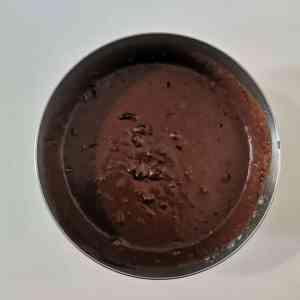 Appareil à cake chocolat - cerise