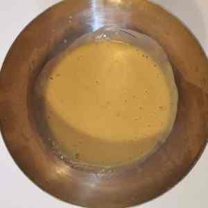 Crème anglaise au piment d'Espelette
