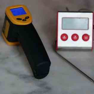 Thermomètres pour tempérage chocolat