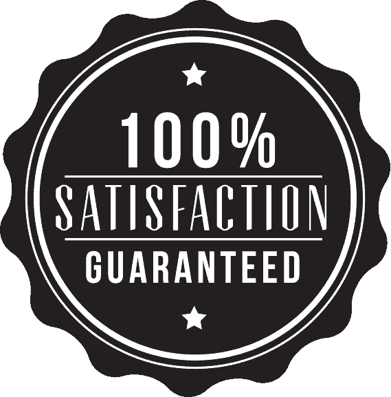 100% Student Satisfaction Badge