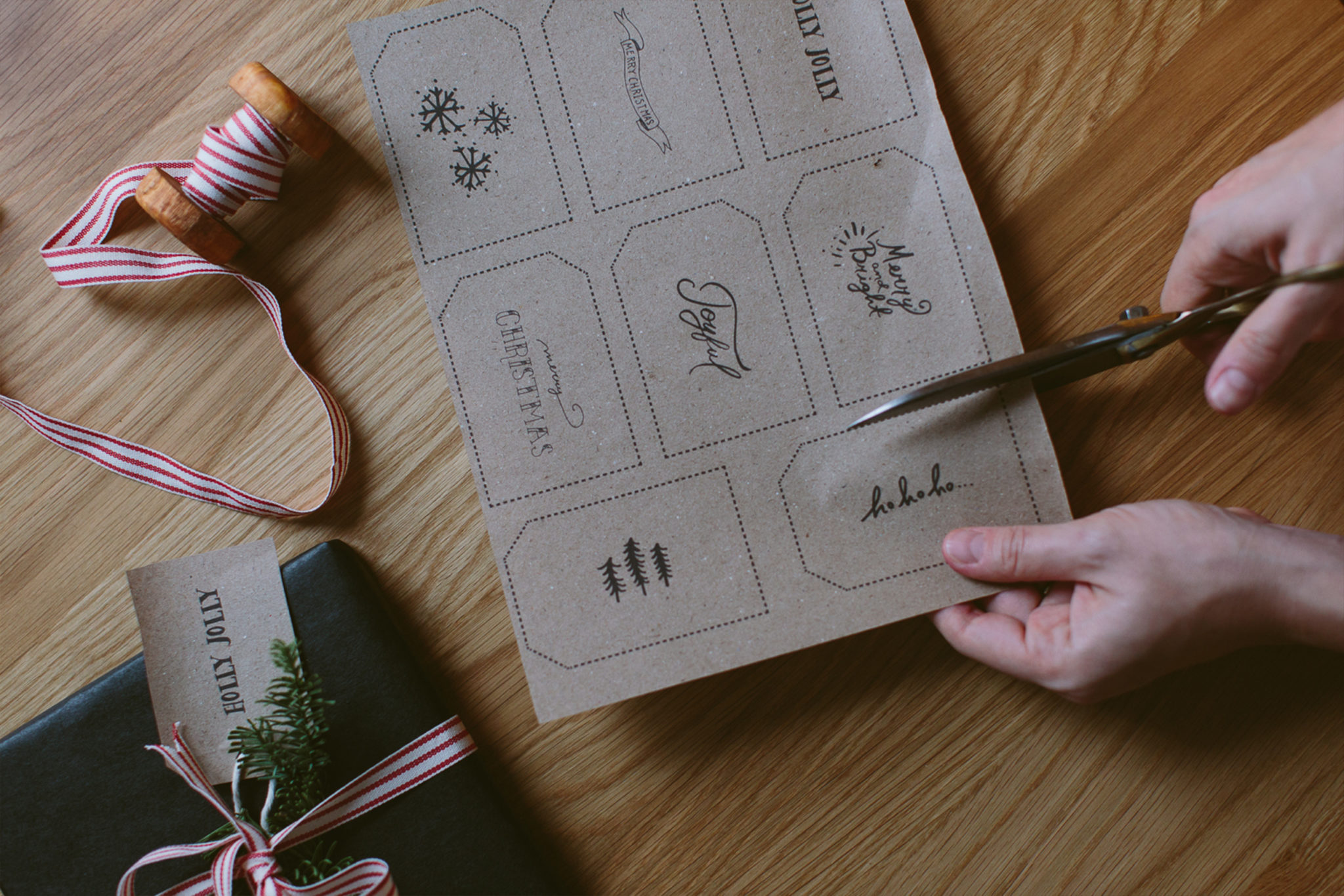 DIY Printable Gift Tags