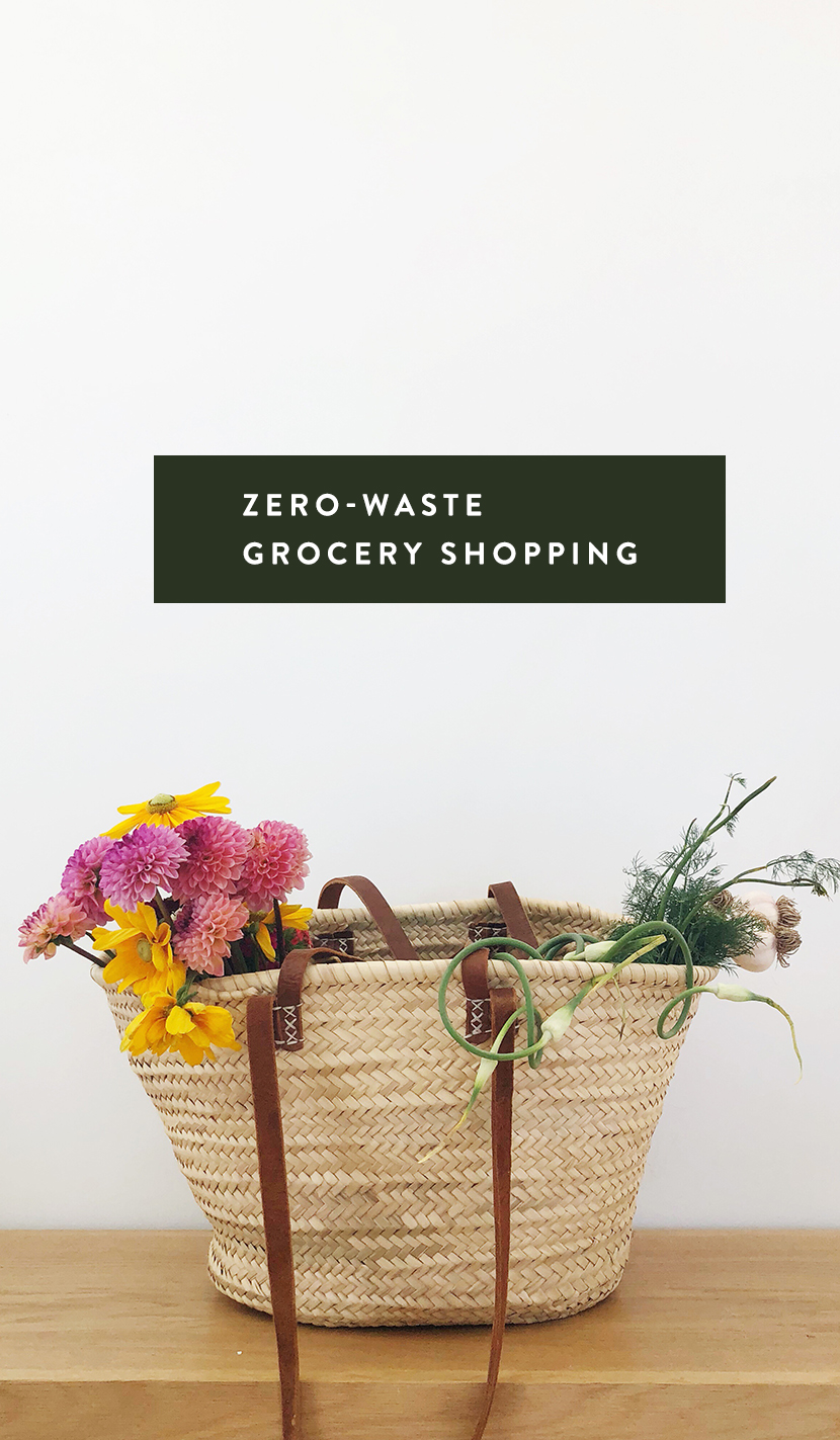 Here are the things I use to keep my waste as limited as possible while grocery shopping and shopping at the Farmer's Market every week.