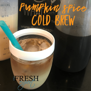 Fresh Recipe Pumpkin Spice Cold Brew The Fresh Expert