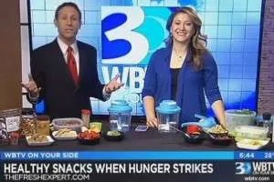 The Fresh Expert on WBTV Healthy Snacks