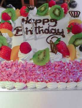Fresh Fruit cake  - Premium Quality