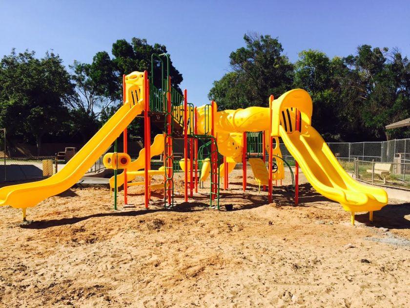 park play area