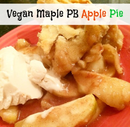 Vegan Peanut Butter Apple Pie Recipe