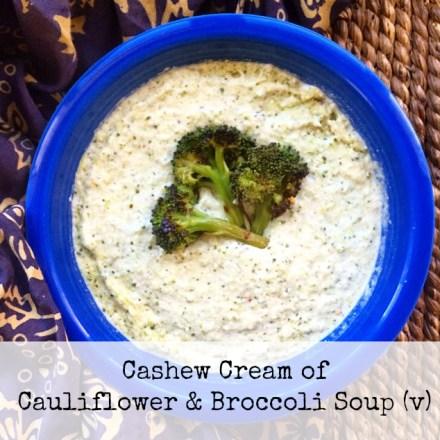 Cream of Cashew Soup recipe