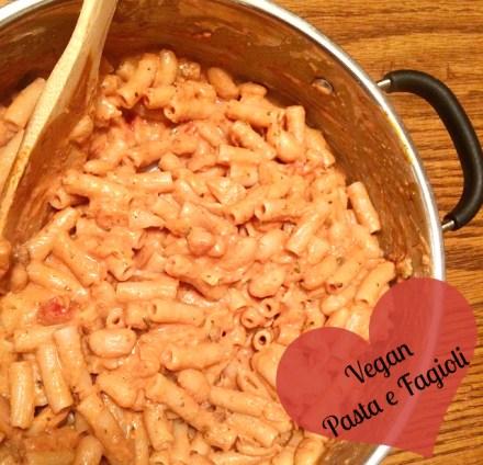 Vegan Pasta e Fagioli Recipe