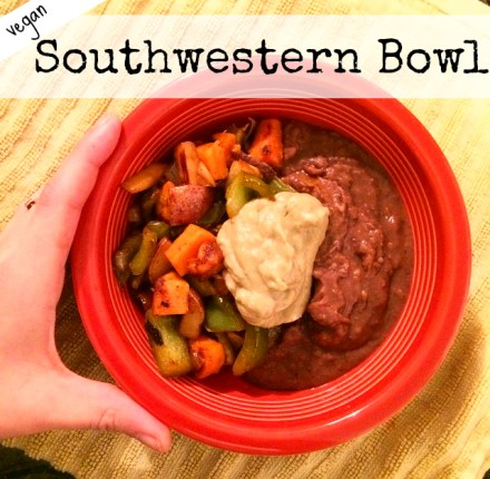 Vegan Southwestern Bowl