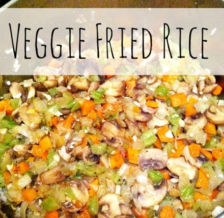 Veggie Fried Rice Recipe