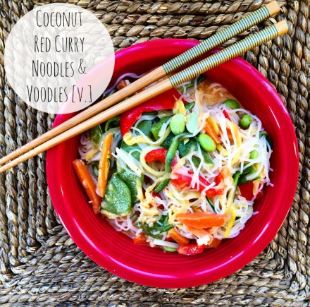 Curry Coconut Noodles Vegan Recipe
