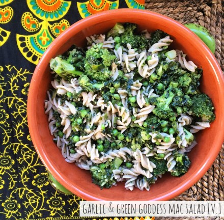 Green Goddess Pasta Salad