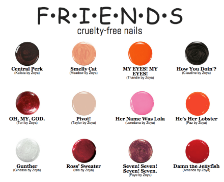 Friends Nail Collection