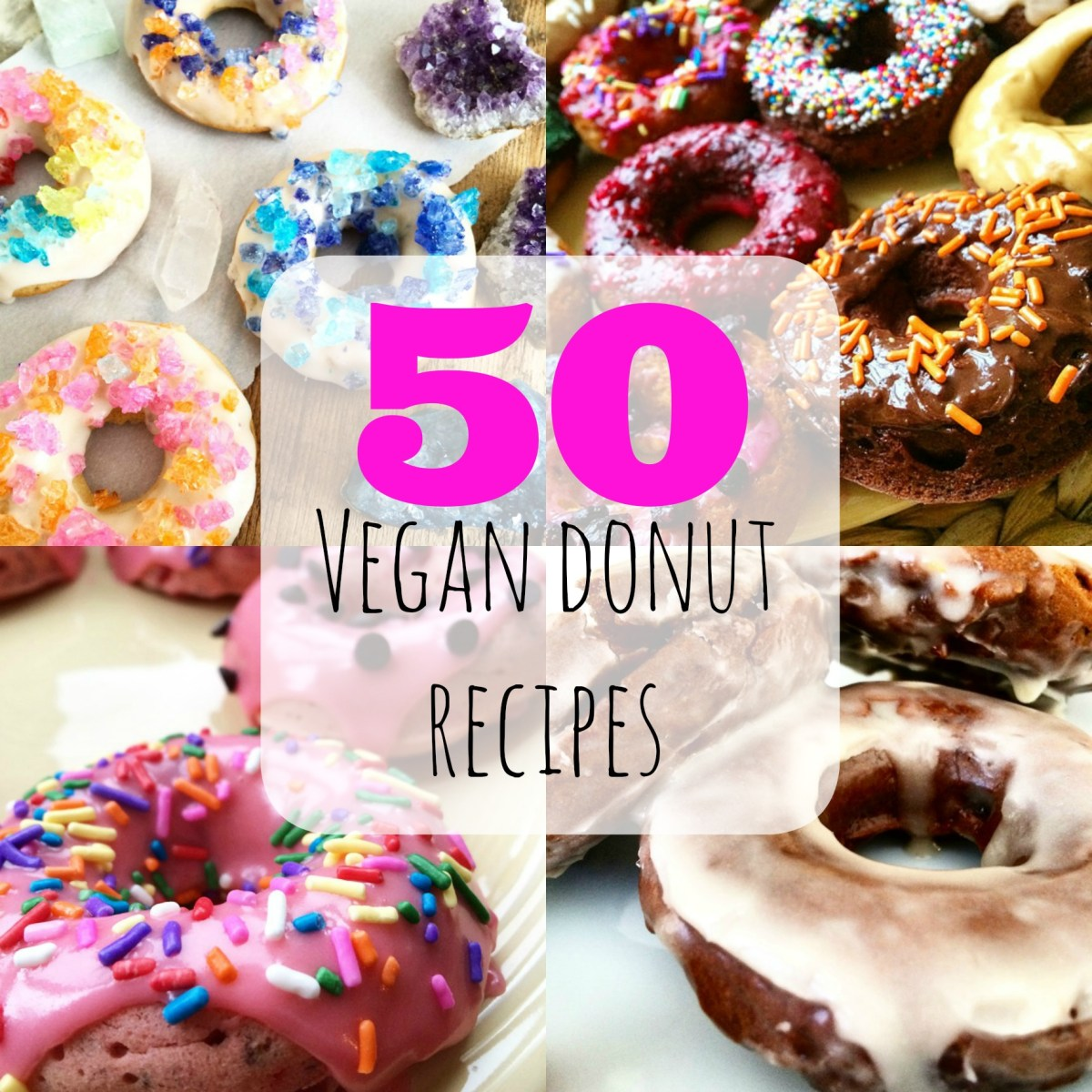 National Donut Day: 50 Vegan Donuts Round-Up