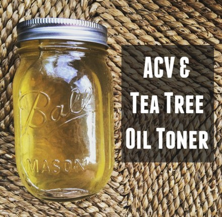 ACV Tea Tree Toner DIY Recipe