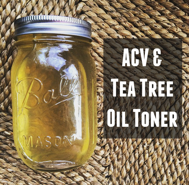 ACV + Tea Tree Oil Toner