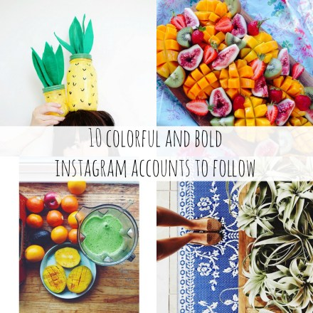 Colorful Instagram Accounts