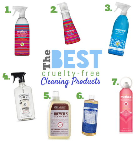 Best Cruelty-Free Cleaning Products