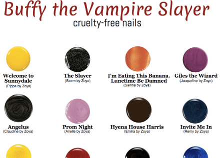 Buffy Vampire Slayer Nails