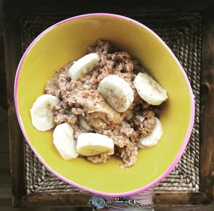 Vegan Peanut Butter Banana Oatmeal Recipe