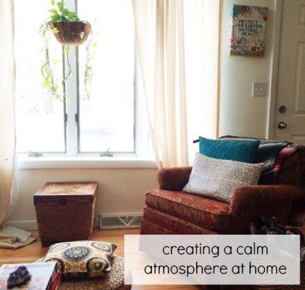Creating Calm Home Atmosphere