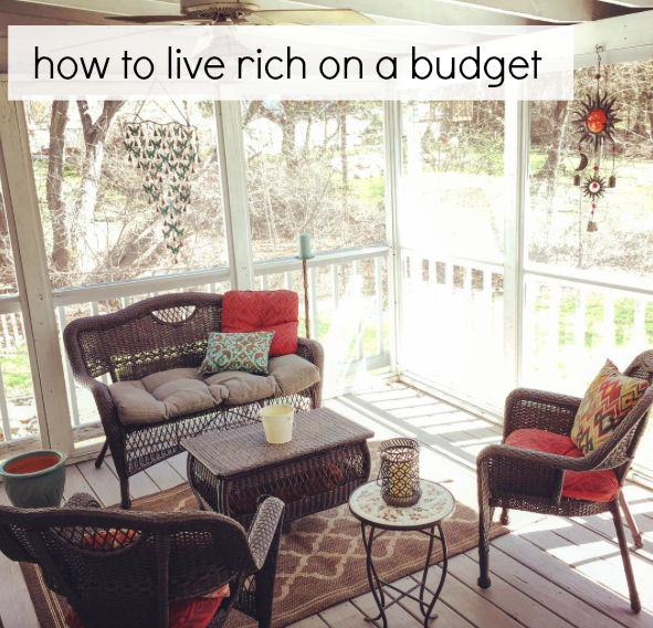 How to Live Rich on Budget
