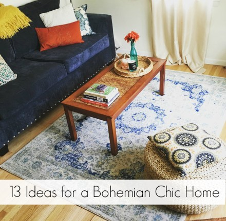 Bohemian Chic Home Tips