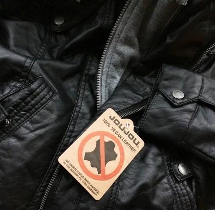 Vegan Style Leather Jacket