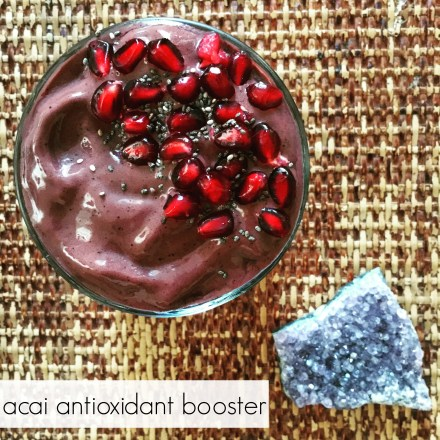 Acai Antioxidant Booster Smoothie