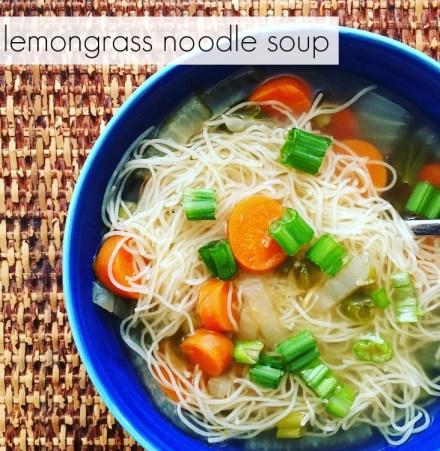 Lemongrass Noodle Soup