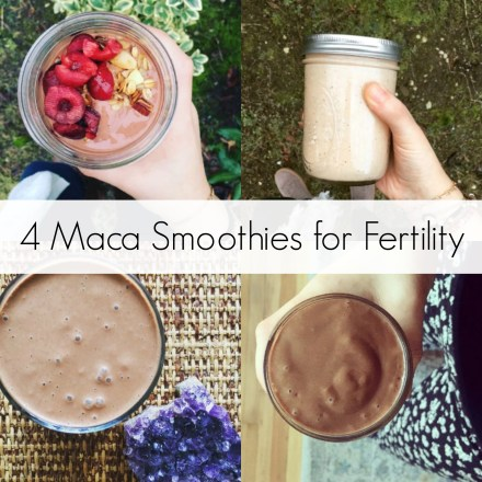 4 Maca Smoothies for Fertility | The Friendly Fig