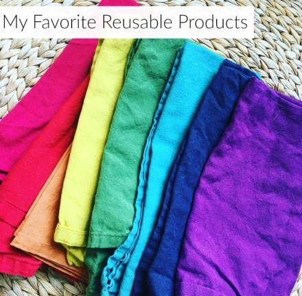 At Home: My Favorite Reusable Products