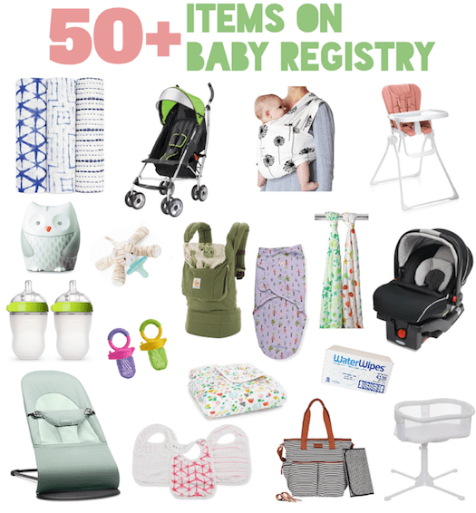 What's On My Baby Registry