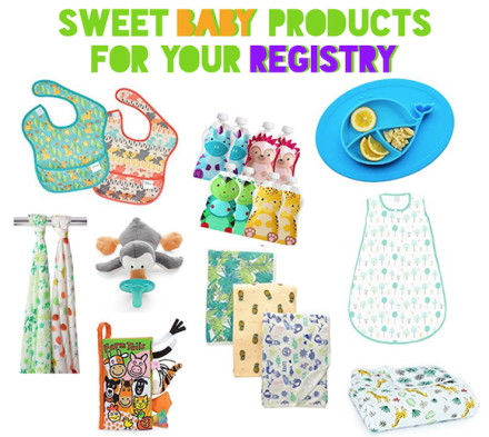 Sweet Baby Products For Registry