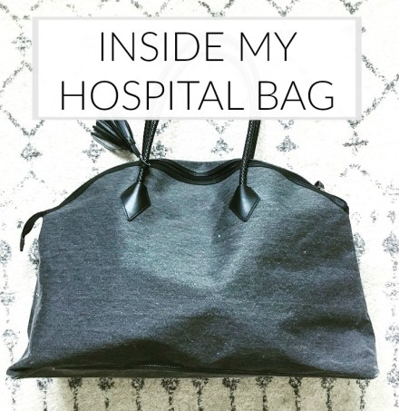 Inside My Minimalist Hospital Bag
