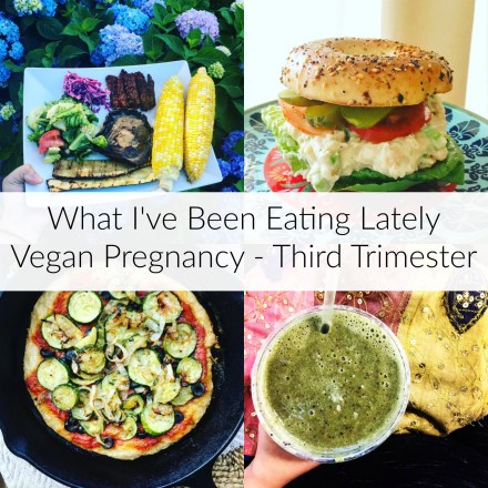 Pregnant Vegan Meals - Third Trimester