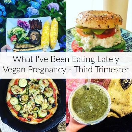 Pregnant Vegan Meals - Third Trimester