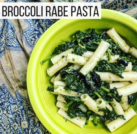 Vegan Broccoli Rabe Pasta