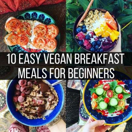 10 Easy Vegan Meals for Beginners (Breakfast) | The Friendly Fig